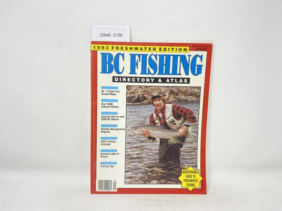 BC Fishing Directory & Atlas, 1993 FreshwaterEdition