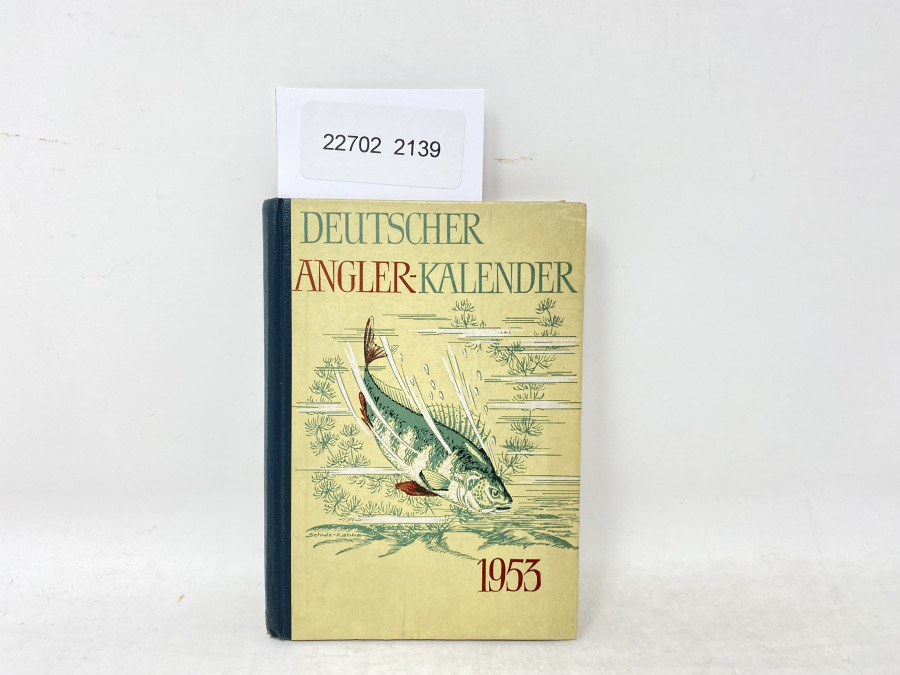 Deutscher Angler-Kalender 1953