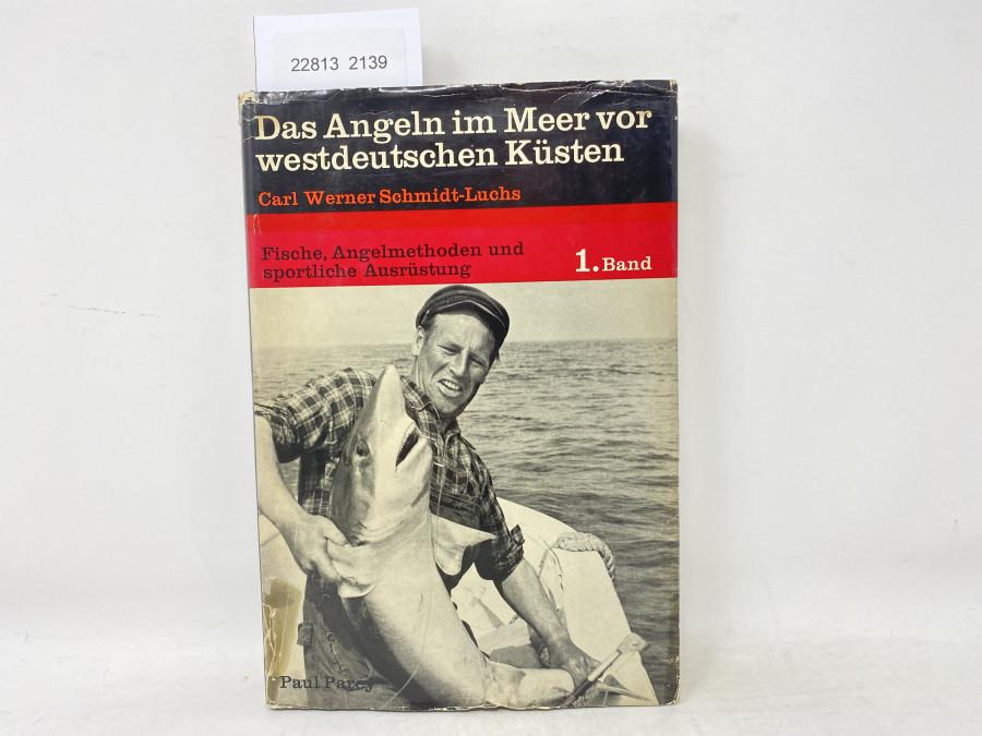 Das Angeln im Meer vor westdeutschen Küsten, Carl Werner Schmidt-Luchs, 1969