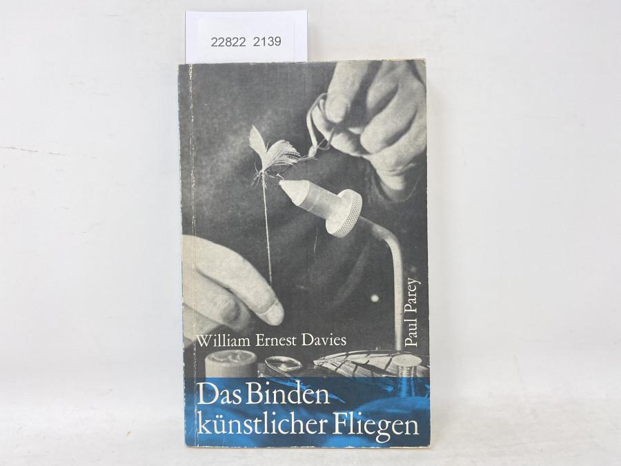 Das Binden künstlicher Fliegen, William Ernest Davies, 1964