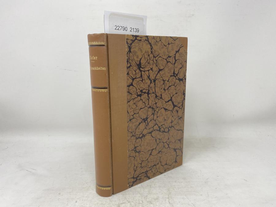 Handbuch der Fischkrankheiten, Dr. Bruno Hofer, 1904
