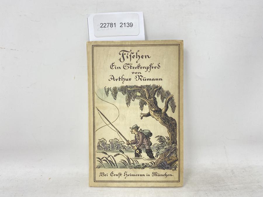 Fischen Ein Steckenpferd, Arthur Rümann, 1948