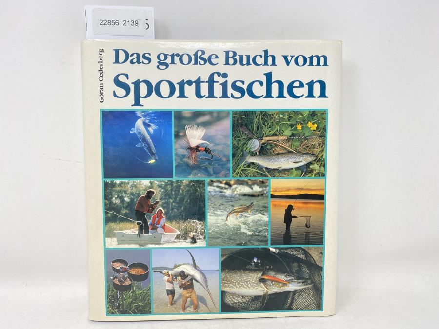 Das große Buch vom Sportfischen, Göran Cederberg, 1988