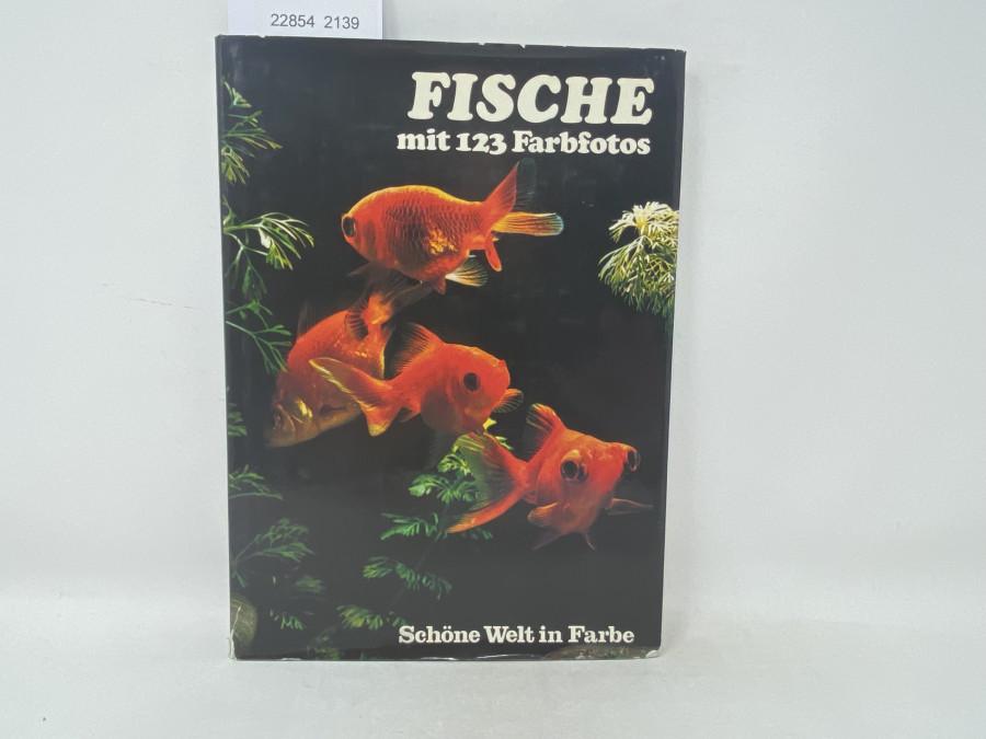 Fische mit 123 Farbfotos, Schöne Welt in Farbe, Jane Burton, 1976