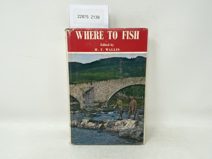 Where to Fish, H.F. Wallis, 1974