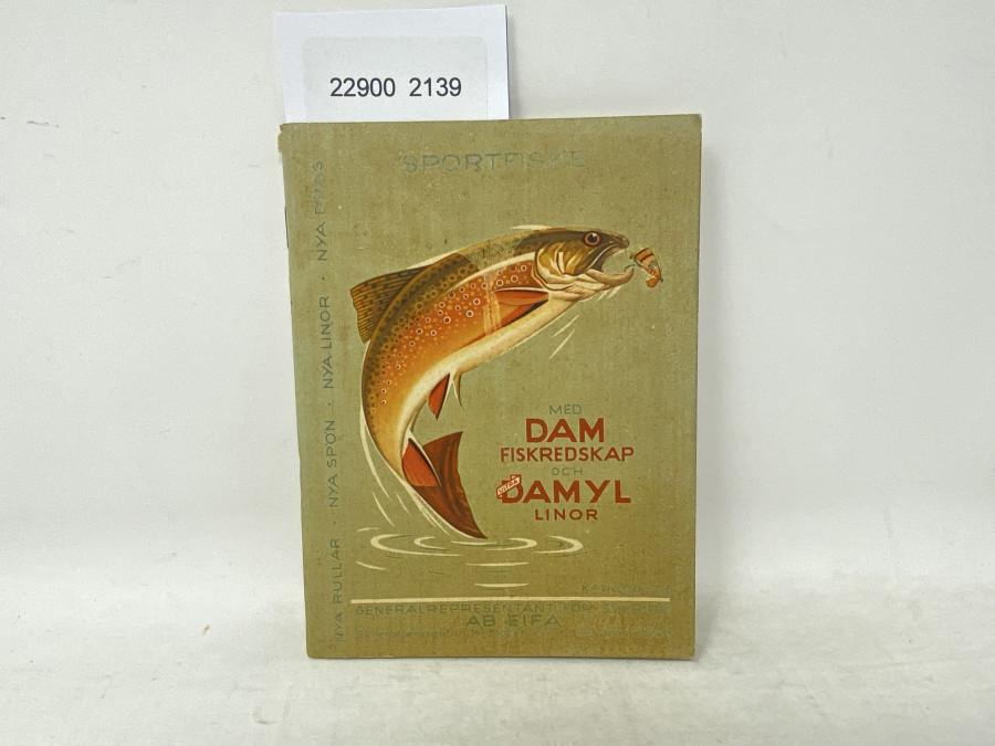 Katalog. DAM Fiskredskap och Damyl Linor, Katalog 26
