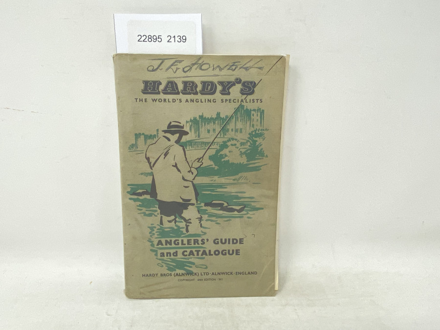 Katalog: Hardy´s Anglers´Guide and catalogue, 64th. Edition, 1964/65