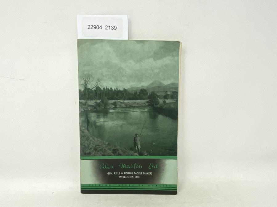Katalog: Alex. Martin Ltd Fishing Tackle Quality, 1952 Edition