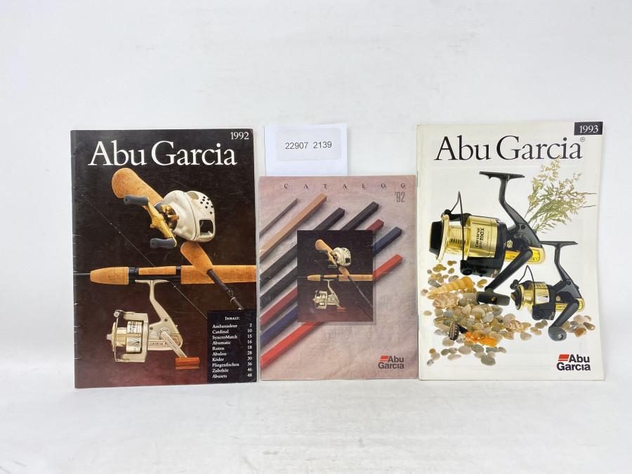3 Katalog:  ABU Garcia 92, 1992, 1993
