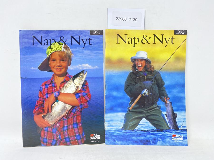 2 ABU Garcia Svangsta Kataloge: Nap & Nyt 1991, 1992