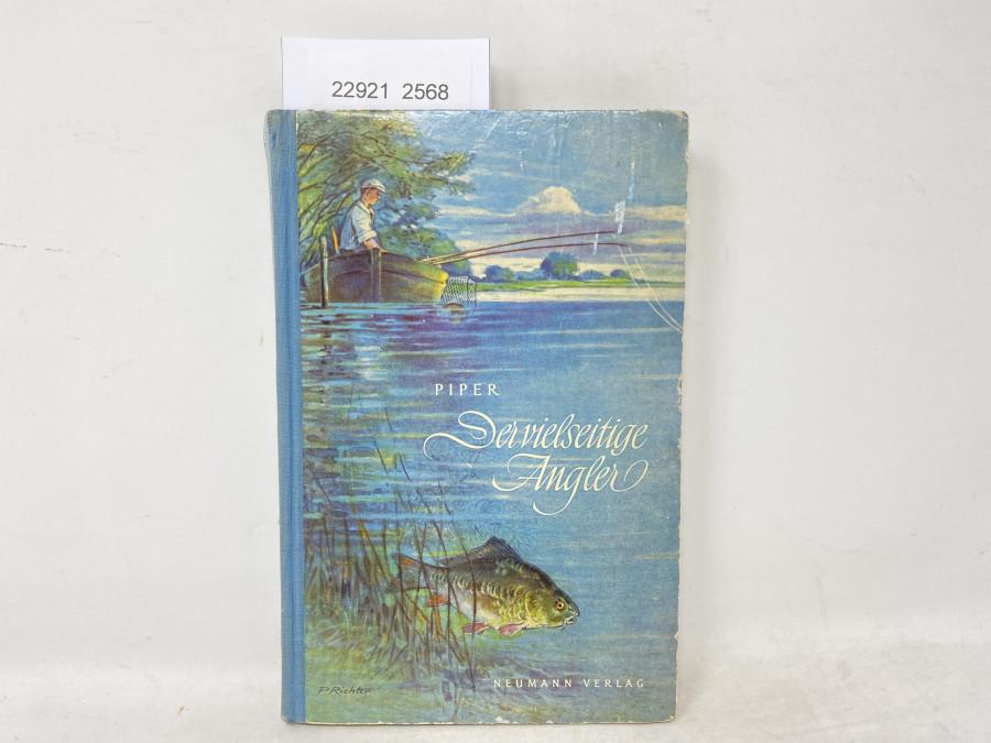 Der vielseitige Angler, Max Piper, 1953