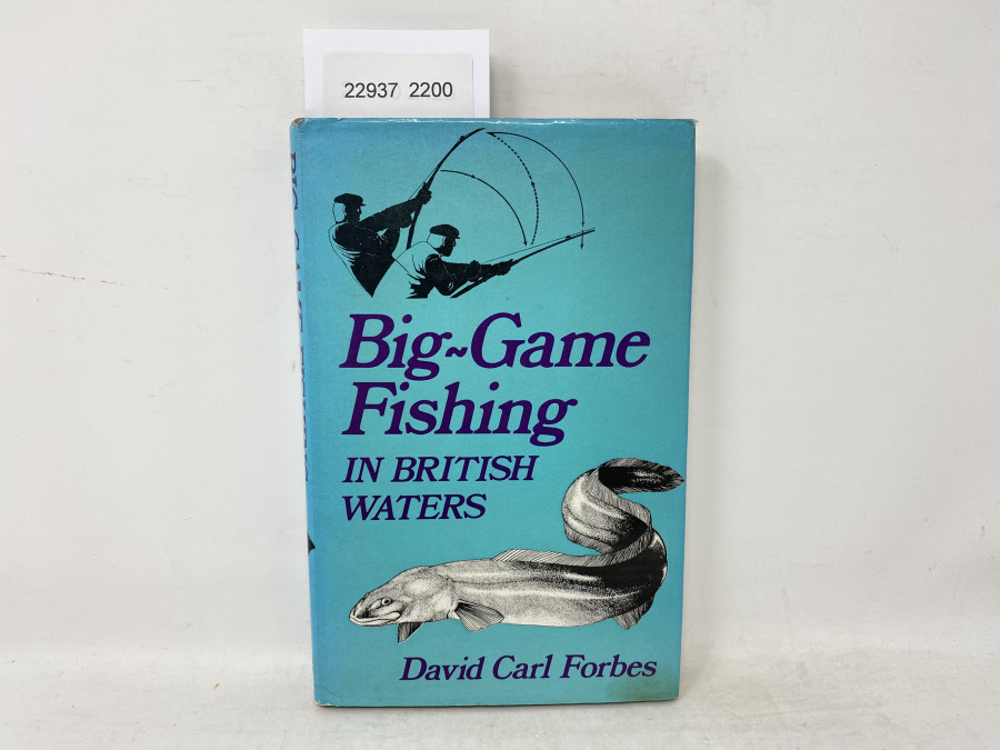 Big - Game Fishing in British Waters, David Carl Forbes, 1972