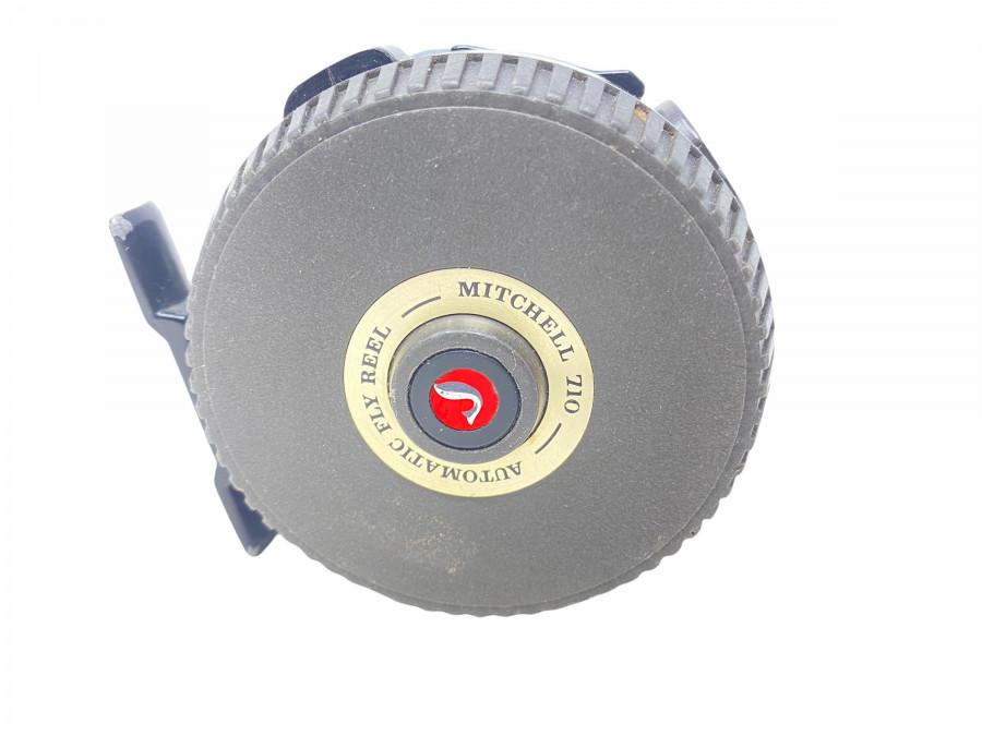 Fliegenrolle, Mitchell 710, Automatic Fly Reel, Gebrauchsspuren