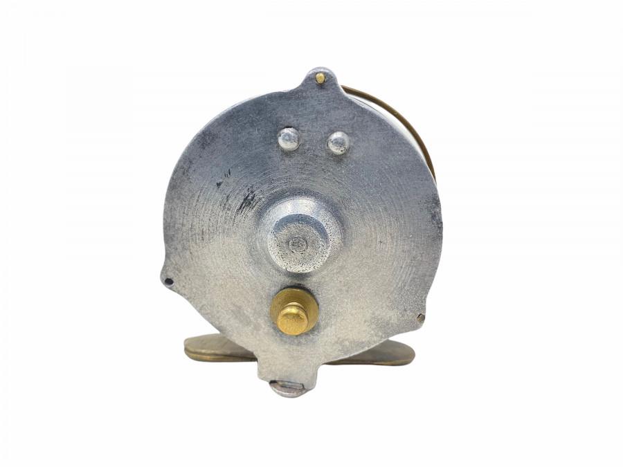 Vintage Grundrolle, Alu, Rollendurchmesser 60mm, Rollenbreite 30mm, Gebrauchsspuren